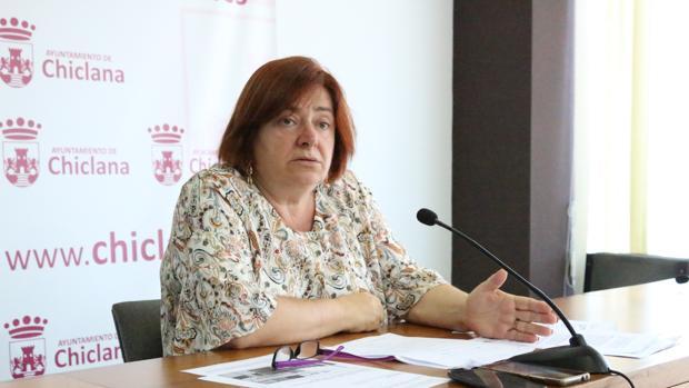 La portavoz del Ayuntamiento, Cándida Verdier.