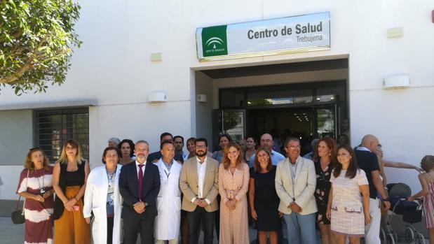 El centro de salud de Trebujena, el día de su inauguración.