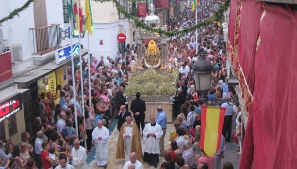 La procesión de la Patrona cerrará los actos.