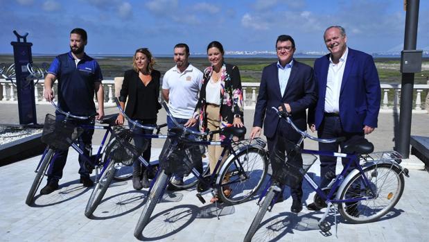 Presentación del Día de la Bicicleta en Bahía Sur