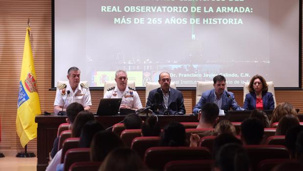 Inauguración de las jornadas sobre turismo y patrimonio de Defensa.