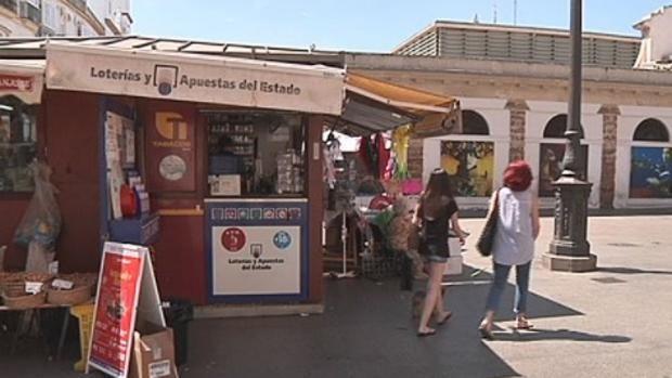 La Bonoloto deja 45.000 euros en el Mercado de Cádiz