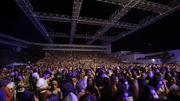 Auditorio Rocío Jurado, en un concierto reciente