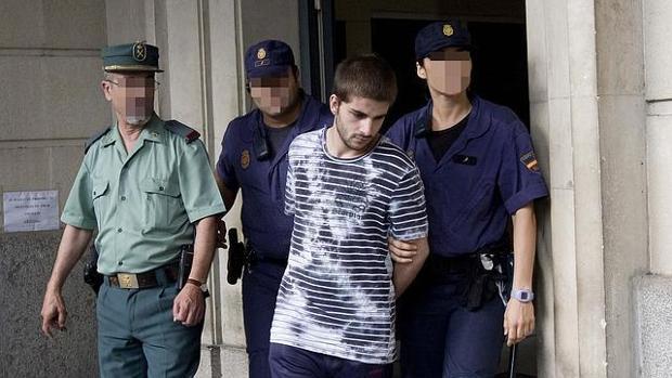Miguel Carcaño a la salida de los juzgados