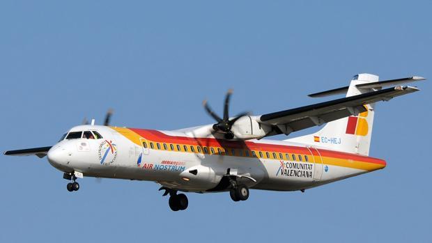 Air Nostrum es una aerolínea franquiciada de Iberia para vuelos regionales