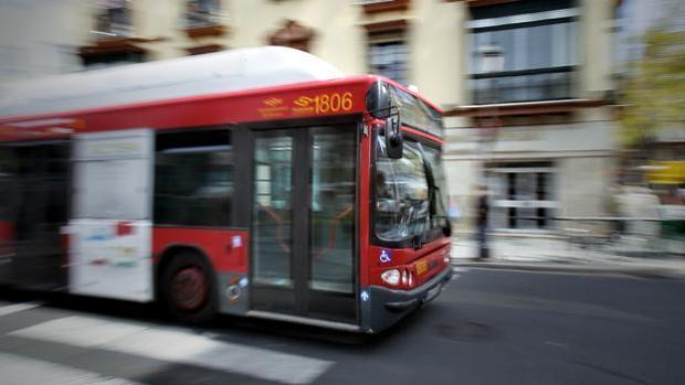 Una línea de autobús de Tussam