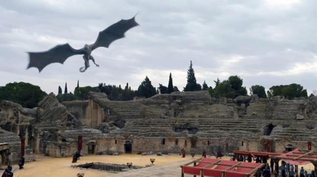 Escena de la serie Juego de Tronos en Sevilla