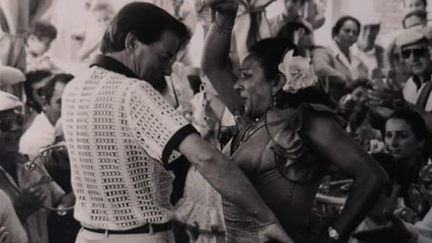 Bailando con Lola Flores