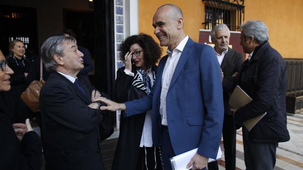 Antonio Muñoz, en el congreso mundial de patrimonio del pasado marzo