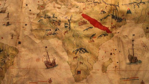 Exposición de «La carta de Juan Sebastián Elcano», en el Archivo de India