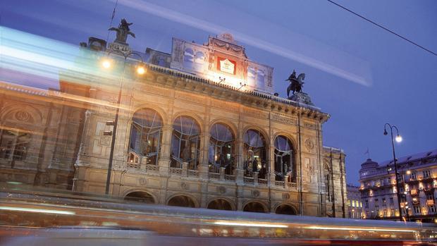 Imagen de la casa Mozart en Viena