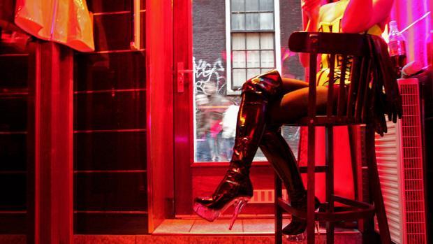 Imagen de archivo del Barrio Rojo de Ámsterdam