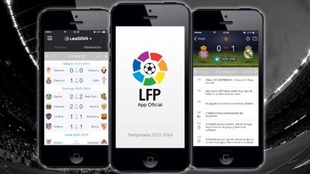 La aplicación oficial de La Liga
