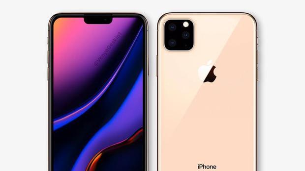 Diseño conceptual del iPhone de 2019