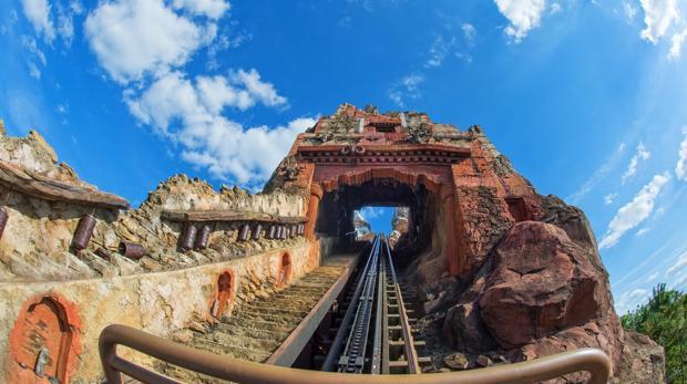 El Tren de la Mina, en Walt Disney World