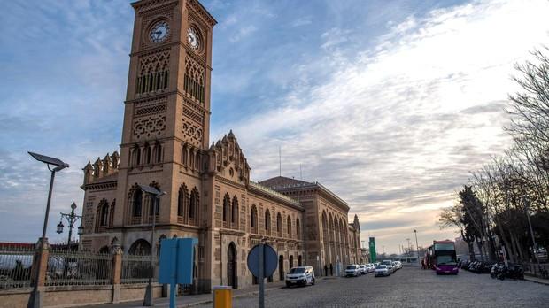 La estación de ferrocarril de Toledo es un hermoso edificio neomudéjar que cumple este 2019 un siglo