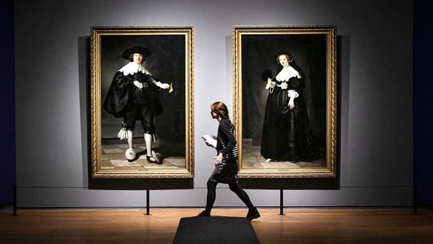 «Marten» y «Oopjen», en el Rijksmuseum