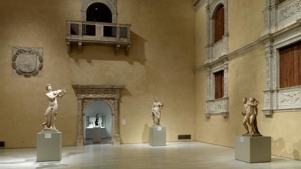 La reproducción del patio del Castillo de Vélez Blanco situado en el MET (Nueva York)